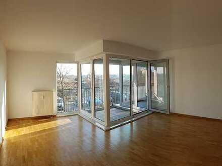 3-Zimmer-Wohnung mit Balkon, Neubau, 2. OG: verkehrsgünstig, sonnig, ruhig