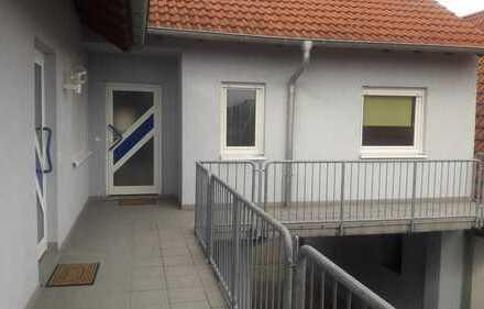 Gepflegte Wohnung mit drei Zimmern in Kronau