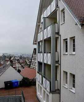 2-Zi.-Wohnung in Pfullendorf, behindertengerecht, betreute Wohnanlage, Aufzug, Notruf. EBK, Balkon