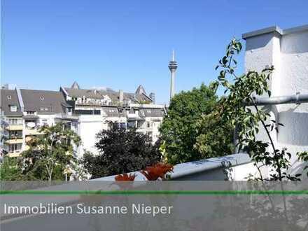 1000 Meter bis zum Rhein – Attraktive Kapitalanlage mit Dachterrasse in Düsseldorf Unterbilk