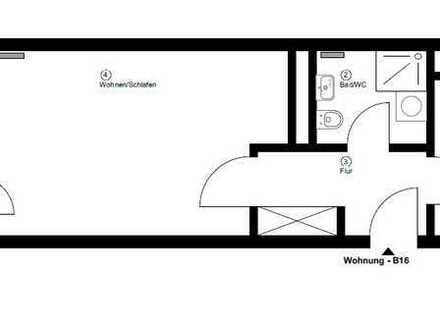 Erstbezug nach Sanierung - 1 Zimmer Wohnung - Zentrum / City
