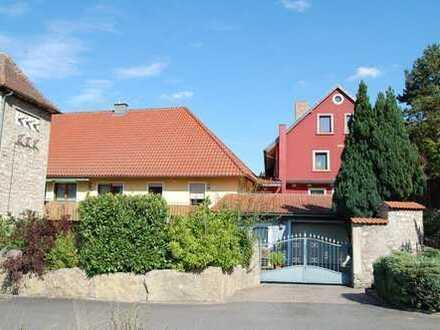 Ehemalige Mühle mit drei abgeschlossenen Wohneinheiten in Ochsenfurt