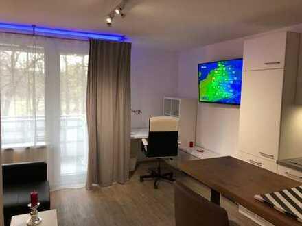 Luxuriös möbelierte und sanierte 2-Zimmer Wohnung in Linden-Süd