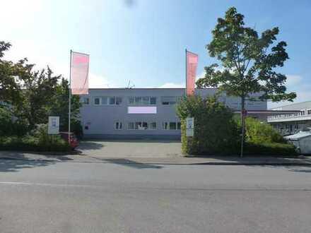 GEWERBEHALLE (6,20m Höhe) mit Büroanteil im Gewerbecenter Augsburg-Ost zu vermieten