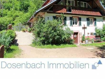 mit Liebe zum Detail saniertes Bauernhaus im Schwarzwald