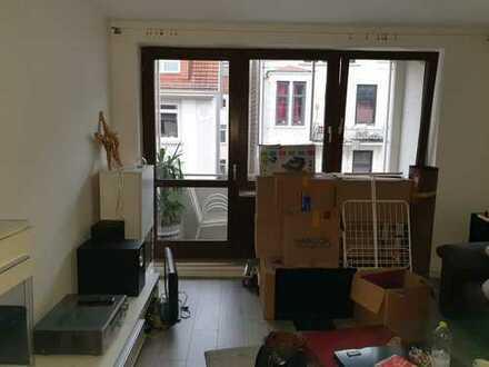 Gepflegte 2-Zimmer-Wohnung mit Balkon in Findorff