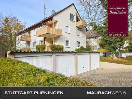 Attraktive, helle 3 Zimmer Wohnung mit großem Balkon + Hobbyraum + Einzelgarage u. v. m.