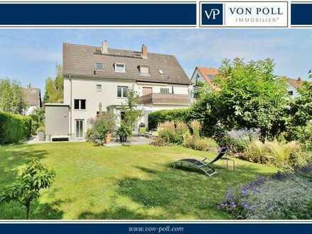 Erstklassige Doppelhaushälfte mit exklusiver Ausstattung & bezauberndem Garten – Bestlage Oberstadt