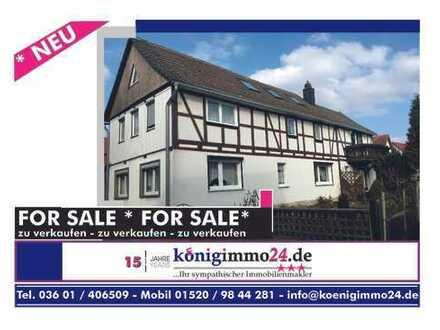 Provisionsfreies* Einfamilienhaus mit Einliegerwohnung in Hüpstedt