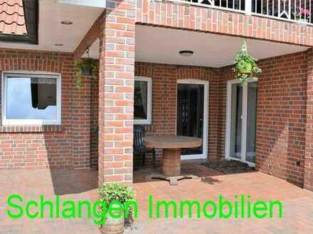 Super Unterwohnung mit Garten und überd. Terrasse im Feriengebiet Saterland / OT Sedelsberg