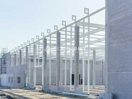 Neubau einer Lager -/ Logistikhalle im Industriegebiet Potsdam Süd