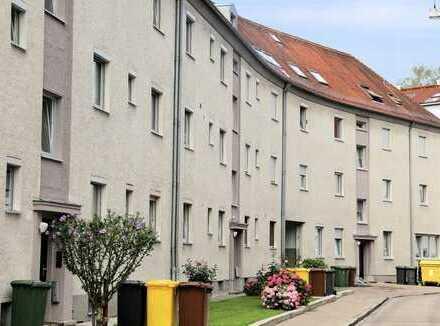 Freie 2-Zimmer-ETW mit Einzelgarage in Pfersee!