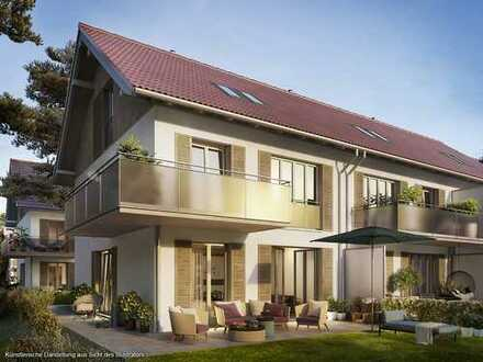 ***Grüner wohnen*** Reihenhaus im Landhausstil inkl. Kaminzug und sonniger Terrasse