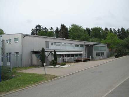 Im Alleinauftrag: Produktionshalle, bestens ausgestattet, ca. 2.000 qm, in Oberndorf zu verkaufen