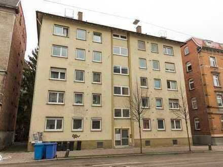 3 Zimmerwohnung mit Balkon und Garage Ulm-Mitte