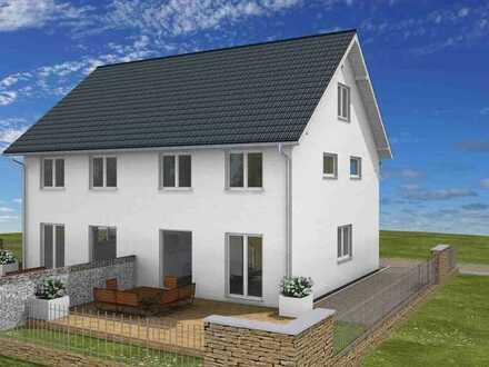 Doppelhaus - Südwestlage mit Fernsicht - Preis pro Doppelhaushälfte