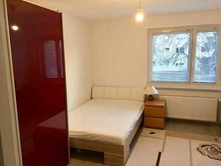 Familien WG Möbliertes Zimmer mit Südfenster und Gartenblick