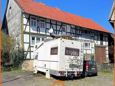 Großes 1-2 Familien-Fachwerkhaus (Kulturdenkmal)