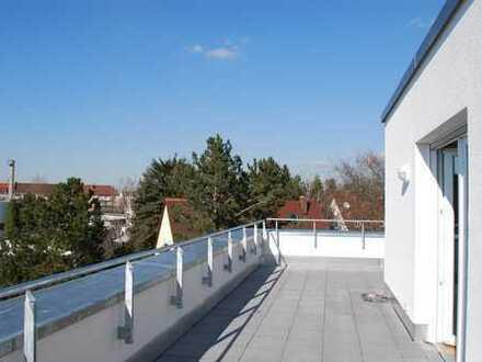 2-Zimmer Dachterrassen-Seniorenservicewohnung neu in Nürnberg - Villa Nopitschpark