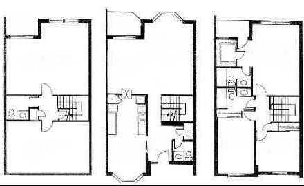 Erstbezug Reihenendhaus 113 m² Wohnfläche 4 Zi/K/D/B/Balk Terrasse HH Lurup