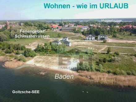 Letzte Ferien/SEE-Wohnung im OG ca. 103 qm inkl. Balkon - 3 Zimmer/GÄWC+Stellpl. - Garage mgl.