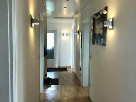 Sonnige , helle 4 Zimmer-EG-Wohnung mit Balkon in Haselbach mit herrlichem Ausblick