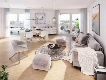 Komfortable 3-Zimmer-Wohnung mit Süd-West-Balkon in attraktiver Lage