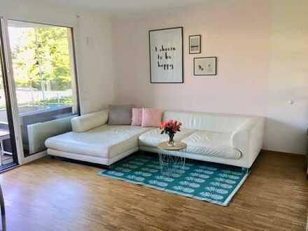 befristet 19.12-31.01.20 Stilvolle 2-Zimmer-Wohnung mit Balkon und Einbauküche in Schwabing, München