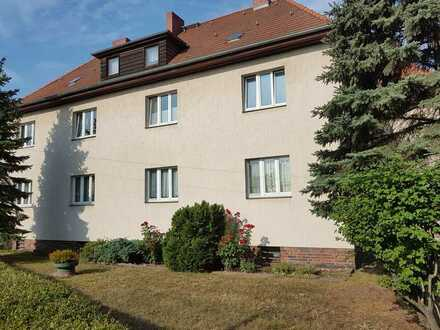 helle 3-Zimmer-Wohnung mit Garten