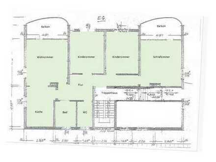 Helle große Erdgeschosswohnung mit Garten in guter Lage von Hannover-Misburg zum 1. April 2019
