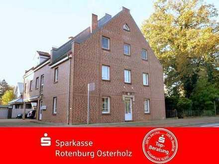 Bremen-Lesum: Äußerst zentrales Apartment im Erdgeschoss mit PKW-Stellplatz für Selbstnutzer oder