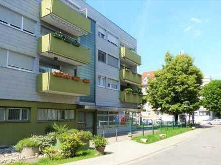 Helle, geräumige und ruhige 1-Zimmer-Wohnung mit Balkon und EBK in Stuttgart-Wangen