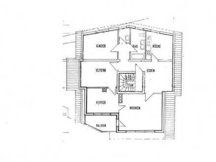 Familienfreundliche 5-Zimmer-Wohnung mit schönem Weitblick