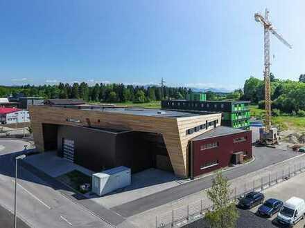 Büroflächen im innovativen Holzbau in der Green City Gelting