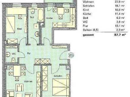 !! tolle Wohnung in bester Lage zwischen Zentrum und Rosenthal!!!!