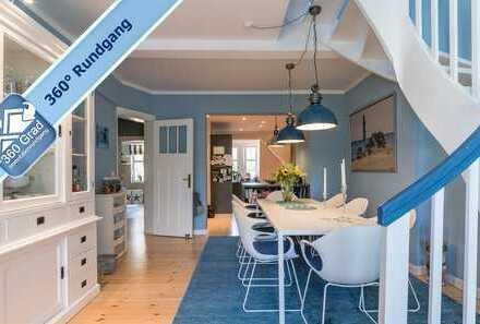 Traumhafte ca. 175 m² Maisonette-Dachgeschosswohnung in Berlin-Zehlendorf