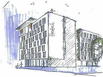 Hotelbaugrundstück mit Vorbescheid für 6.000 m² BGF/170 Zimmer in urbaner und Sichtlage in Wandsbek