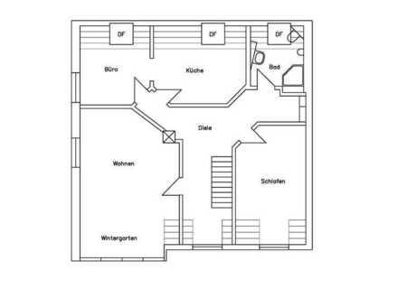 Lichtdurchflutete 3-Raum-Dachgeschosswohnung in Nellingen