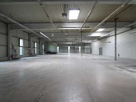 Büro und Gewerbehalle am Messegelände mit 1.370m² Hallenfläche