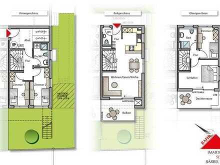Neubau-Doppelhaushälfte in ruhiger Lage mit Sonnenterrasse