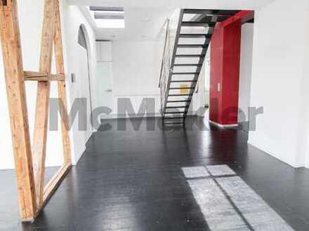 Gehobene Ausstattung und modernes Wohnen auf 2 Etagen! Schicke 4-Zi.-Maisonette-Wohnung mit Balkon!