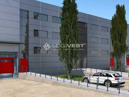 *Provisionsfrei* Neubau einer Lager- und Logistikhalle an der A7 in Knüllwald