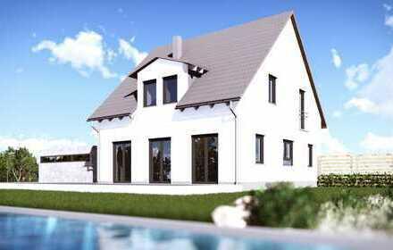 """Ruhige Lage! Platz für die Familie! Unser Ziegelmassivhaus """"Classic 119"""" direkt in Haunstetten!"""