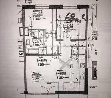 Exklusive 3-Zimmer-Wohnung mit Balkon und Einbauküche in Jettingen