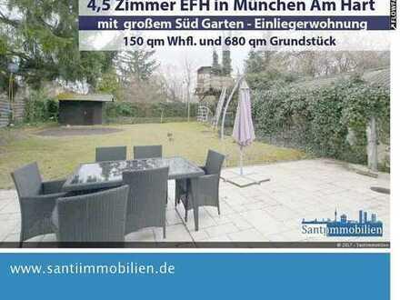 4,5 Zi. EFH mit 150 qm Whfl. , 680 qm Grund, großer Südgarten, Einliegerwohnung