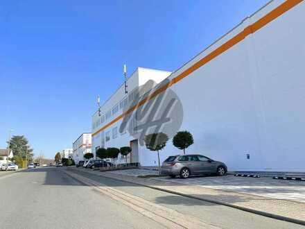 VIELSEITIG NUTZBAR ✓ NÄHE BAB ✓ Lager-/Service (1.100 m²) & Büro (250 m² / erweiterbar) zu vermieten