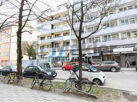Helle 3-Zi.-ETW mit 2 Balkonen in München-Sendling