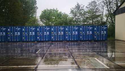 Lagermöglichkeit / Container an Gewerbe und Privat