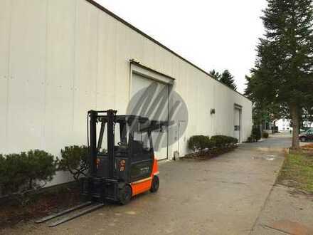 Lagerflächen (600-1.300 qm) & Büroflächen (200 qm) zu vermieten