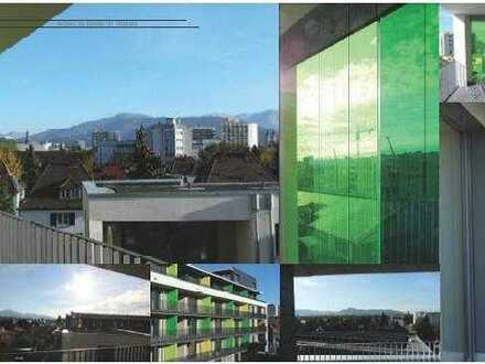 2 Zi. Whg. mit großer Südbalkon im grünen Haus
